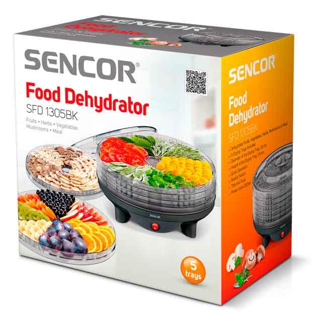 SENCOR SFD-1305 BK - Meyvə qurudan - sekiller