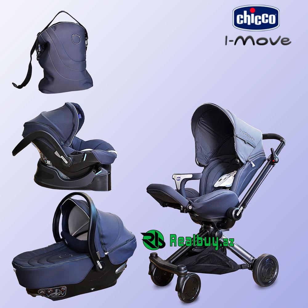 Trio Chicco İ-move uşaq arabası - sekiller