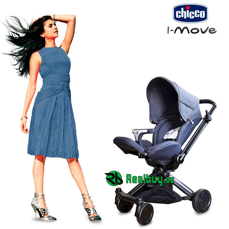 Trio Chicco İ-move uşaq arabası